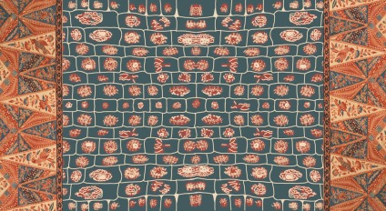 A batik breast cloth, found among Buang's belongings