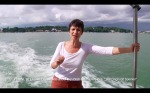 Narrator on the boat to Ternate