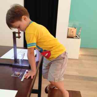 Never too young to look down the microscope